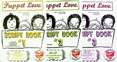 Puppet  Love Scripts  #1-2-3 Set